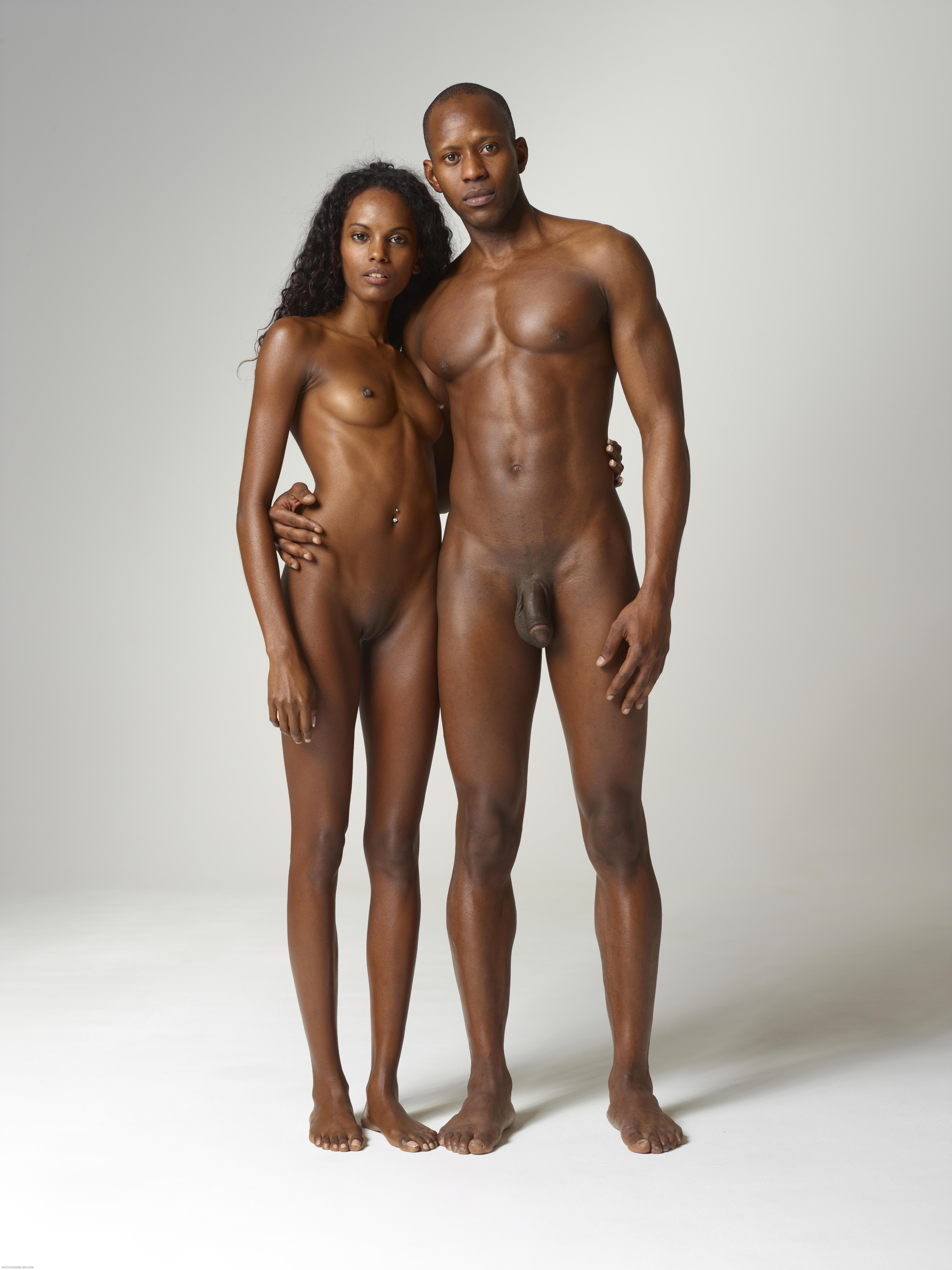 big black naked people